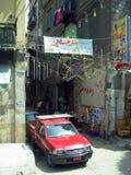 开罗在埃及:街道和大厦 库存图片