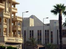 开罗在埃及:街道和大厦 免版税库存照片