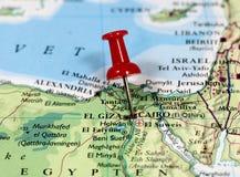 开罗在埃及 免版税库存图片