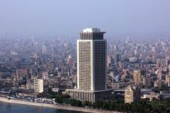 开罗地平线  库存图片