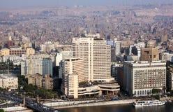 开罗地平线  免版税图库摄影