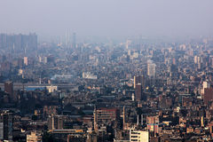 开罗地平线  图库摄影