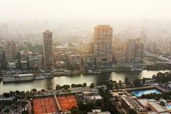 开罗地平线  免版税库存图片