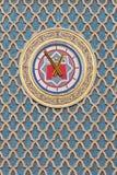 开罗地铁时钟 免版税库存照片
