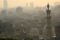 开罗埃及伊斯兰老季度 免版税库存图片