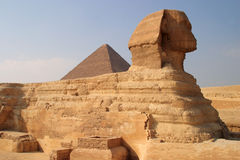 开罗埃及吉萨棉狮身人面象 免版税库存照片