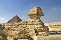 开罗埃及吉萨棉狮身人面象 库存照片