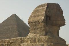 开罗埃及吉萨棉狮身人面象 图库摄影
