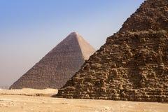 开罗埃及吉萨棉金字塔 免版税图库摄影