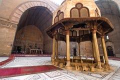 开罗埃及哈桑清真寺苏丹 免版税库存图片