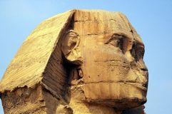 开罗埃及狮身人面象 库存图片