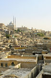 开罗埃及老城镇 库存图片