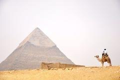 开罗埃及金字塔 免版税库存图片