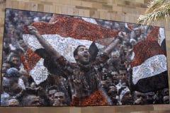 开罗埃及革命tedx 免版税图库摄影