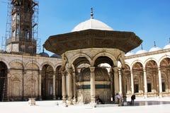 开罗城堡内部看法在埃及 图库摄影