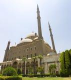 开罗城堡和周围的庭院 免版税库存图片