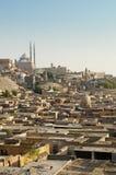开罗城堡城市停止的埃及 库存图片