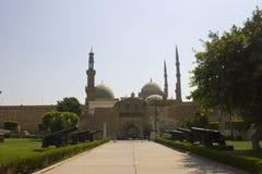 开罗城堡复杂入口 图库摄影