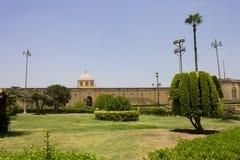 开罗城堡庭院 库存图片