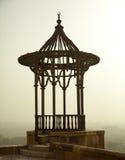 开罗城堡暗淡的超出视图 免版税图库摄影