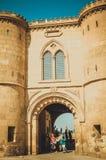 开罗城堡的人们 免版税库存照片