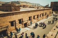 开罗城堡的人们 库存照片