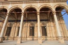开罗城堡的庭院  免版税库存图片