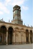 开罗城堡钟塔 库存照片