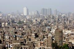 从开罗城堡(Salah Al声浪城堡的看法)在开罗,埃及 库存照片