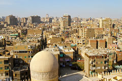 开罗城镇 库存照片