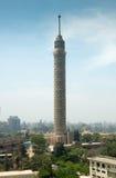 开罗塔城市视图  库存图片