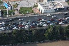 从开罗塔的桥梁 免版税库存照片