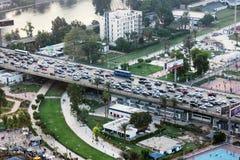 从开罗塔的桥梁 库存图片