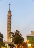 开罗塔的看法 免版税库存照片