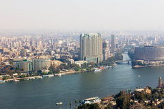 从开罗塔-埃及的看法 库存照片