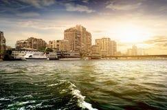 开罗大厦  库存图片