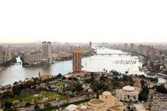 开罗尼罗河 免版税图库摄影
