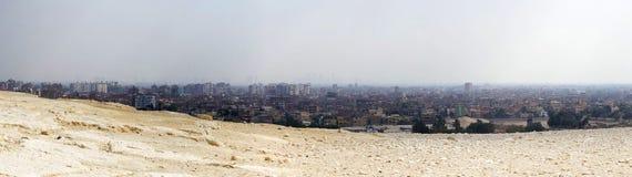 开罗市地平线 免版税图库摄影