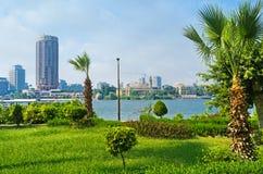 开罗散步的庭院 免版税库存图片