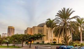 开罗歌剧院在晚上 免版税图库摄影