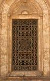 开罗清真寺视窗  免版税库存图片