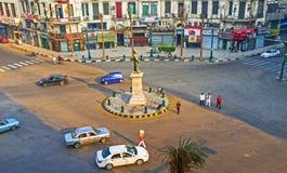 开罗的大广场 库存照片