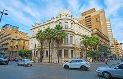开罗的` s,埃及建筑学街市 免版税库存图片