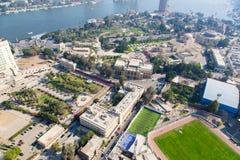 开罗看法从开罗塔的 免版税图库摄影