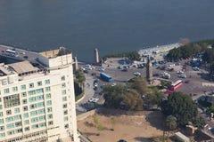 开罗看法从开罗塔的 免版税库存图片