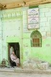 开罗老城内住宅在埃及 库存图片