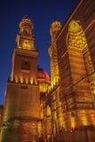 开罗老镇夜射击 免版税库存照片