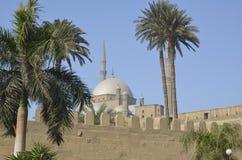 开罗萨拉丁城堡  免版税库存照片