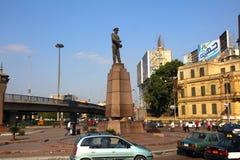 开罗街市埃及纪念碑 免版税库存图片