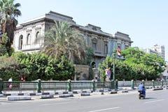 开罗街道视图 图库摄影